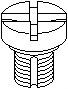 Õhutuskruvi/-klapp radiaator