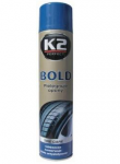 Rehviläige K2 BLACK Shine Spray 600ml