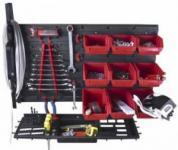 Seinale monteeritav tööriistastend 650x400x150mm