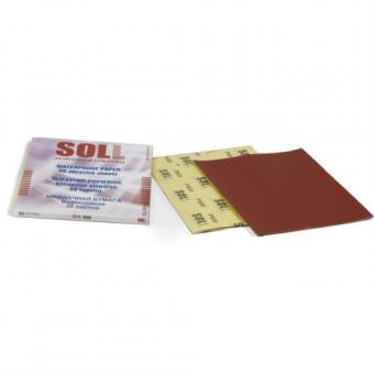 SOLL veekindlad liivapaberid P-500 punased
