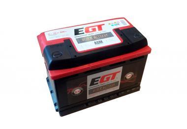 Käivitusaku EGT AGM 70Ah 640A -/+ 275x175x190mm