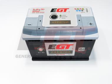 Käivitusaku EGT 80Ah 760A -/+ 275x175x190mm