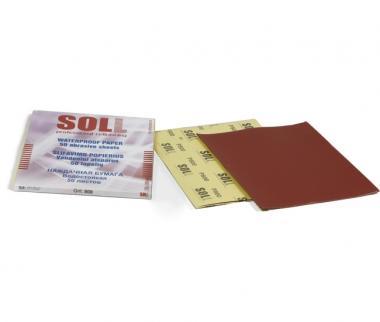 Liivapaberid SOLL veekindlad P-800 punane