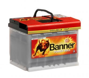 Käivitusaku BANNER 63AH 12V 600A Power PRO 241x175x190mm