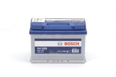 Käivitusaku BOSCH 74Ah 680A S4