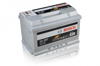 Käivitusaku BOSCH 74Ah 750A S5