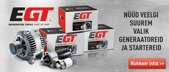 EGT starteriai ir generatoriai | EE