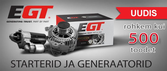 Starterid ja generaatorid